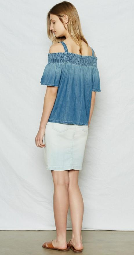 Current/Elliott CEL - The Madeline Top 2819-0532 Davis at Blond Genius - 2