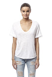 360 Sweater Leila Tee Bleached White at Blond Genius