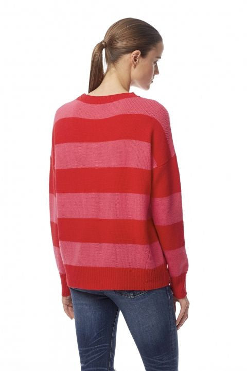 360 Sweater 360 Sweater - Sena Rouge/Shocking Pink at Blond Genius - 2