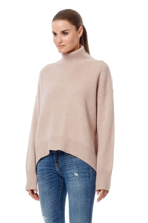360 Sweater - Olive Rose Quartz