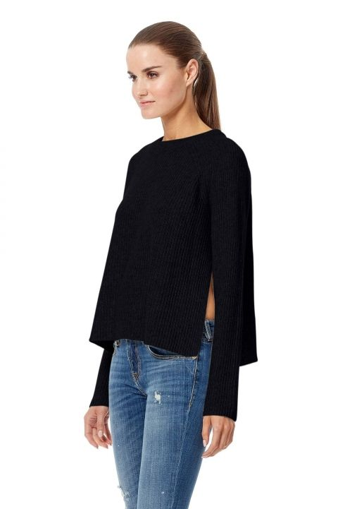 360 Sweater- Bianca Black