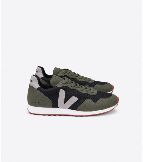 Veja - SDU-REC BMesh in Black Oxford-Grey Olive