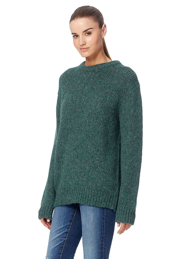 360 Sweater - Briseis Teal