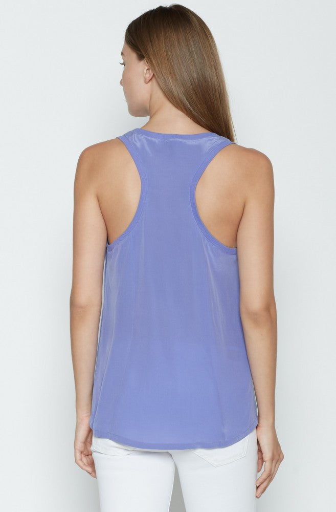 Joie Alicia Tank  Periwinkle at Blond Genius - 2