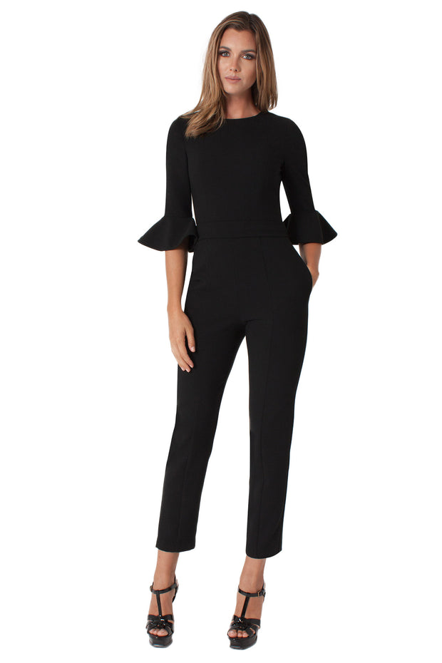 Black Halo - Brooklyn Jumpsuit in Black