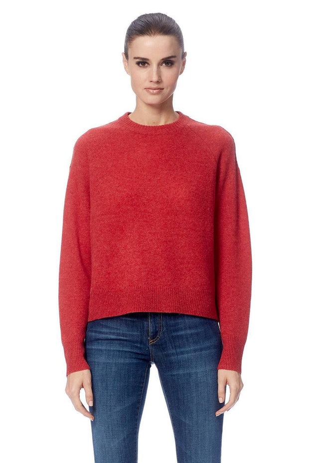 360 Cashmere - Gracie Cashmere Sweater in Brick
