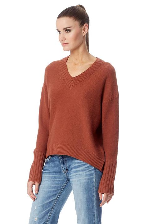 360 Sweater- Eliza Cinnamon