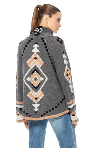 360 Sweater - Koko Charcol/ Multi