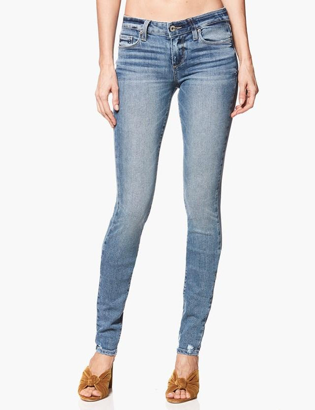 Paige - Leggy Ultra High Rise Skinny Jeans Rissy