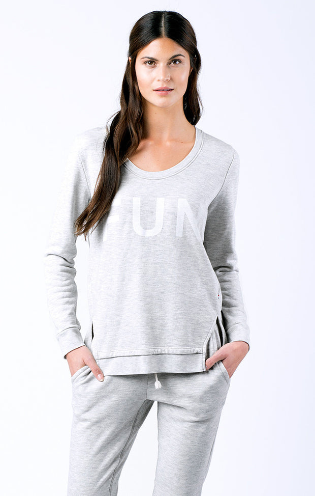 SOL Los Angeles Sol Angeles - FUN DBL SPLIT PULLOVER at Blond Genius - 1