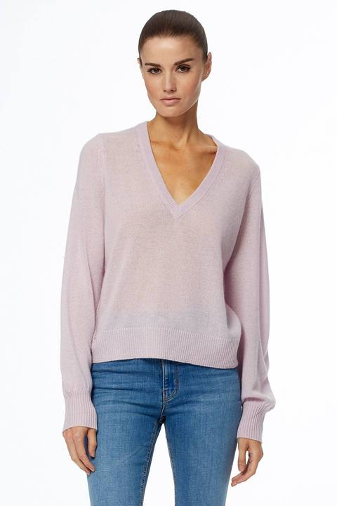 360 Cashmere - Nixie Sweater in Mallow