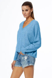 360 Cashmere - Marina Sweater in Capri Blue