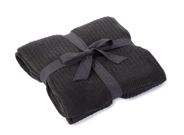 Barefoot Dreams - Cozychic Lite Ribbed Throw in Carbon