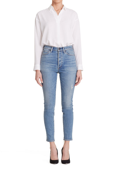 Citizens of Humanity - Olivia High Rise Slim Ankle Jeans in Backroad