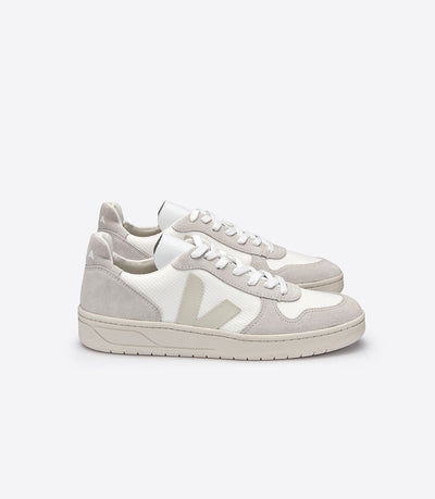 Veja - V10 Sneakers BMesh in White Natural