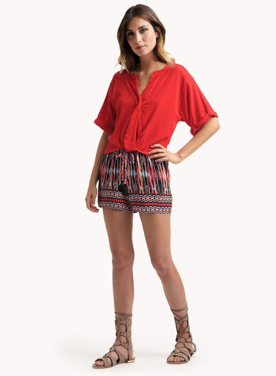 Ella Moss Citra Cherry Shorts at Blond Genius