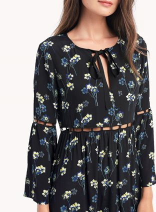 Ella Moss - Bell Sleeve Dress