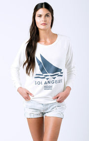 SOL Los Angeles Sol Angeles - SOL REGATTA PULLOVER at Blond Genius - 1