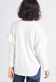 Current Elliott - The Ruffle Sweatshirt