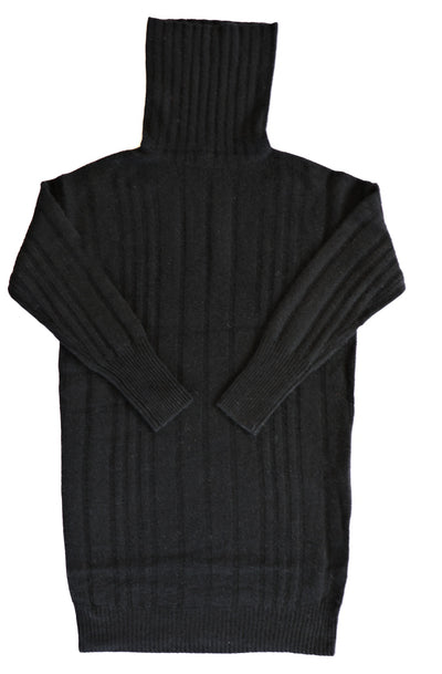 360 Cashmere - Daniella Turtleneck Sweater in Black