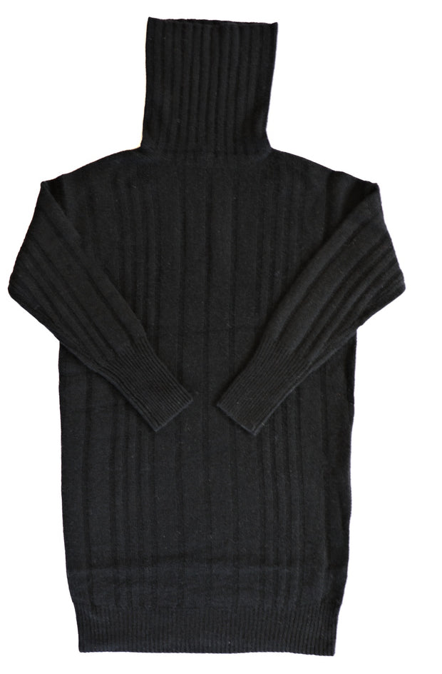360 Cashmere - Daniela Turtleneck Sweater in Black