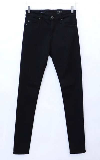 AG - Farrah Skinny Jeans  in Super Black