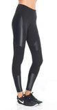 Koral Koral- Forge Mid Rise Legging Black at Blond Genius - 2