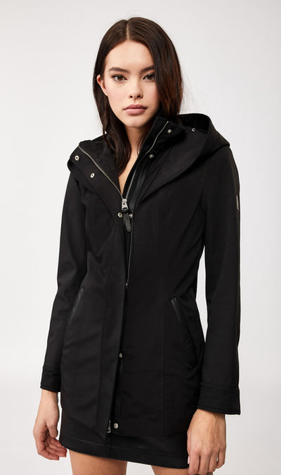 Mackage - Alba Rain Jacket in Black