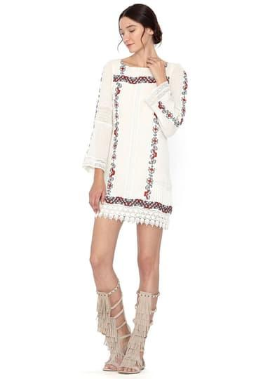 Alice + Olivia Riska Boatneck Dress at Blond Genius - 1