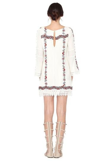 Alice + Olivia Riska Boatneck Dress at Blond Genius - 2