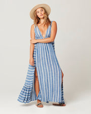L*Space - Allison Cover Up Dress in Poolside Stripe