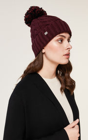 Soia & Kyo - Amalie Hat in Drewberry Pom