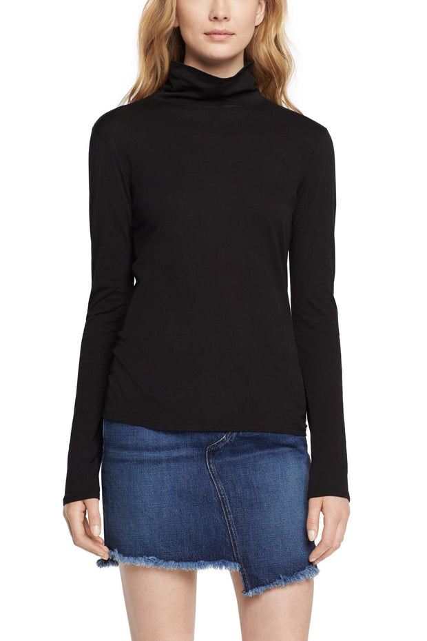 Rag & Bone Rag & Bone - Base Turtleneck Black at Blond Genius - 1