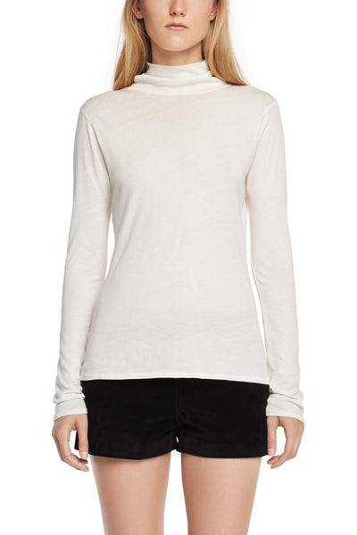 Rag & Bone Rag & Bone - Base Turtleneck Ivory at Blond Genius - 1