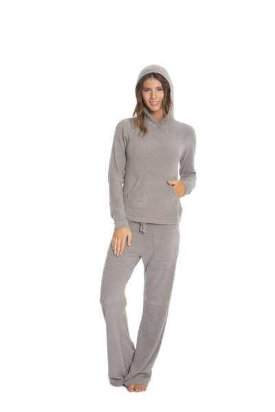 Barefoot Dreams - Cozychic Ultra Lite Pullover Hoodie in Beach Rock