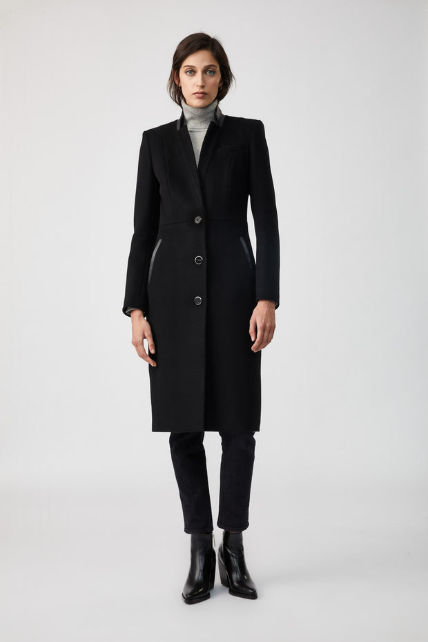 MACKAGE - Bianca Wool Coat in Black