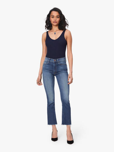 Mother Denim - Hustler Ankle Fray Big Sky