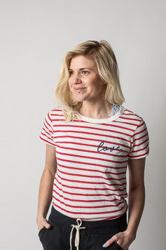 Boat House Apparel - All You Need Is Love Striped Tee