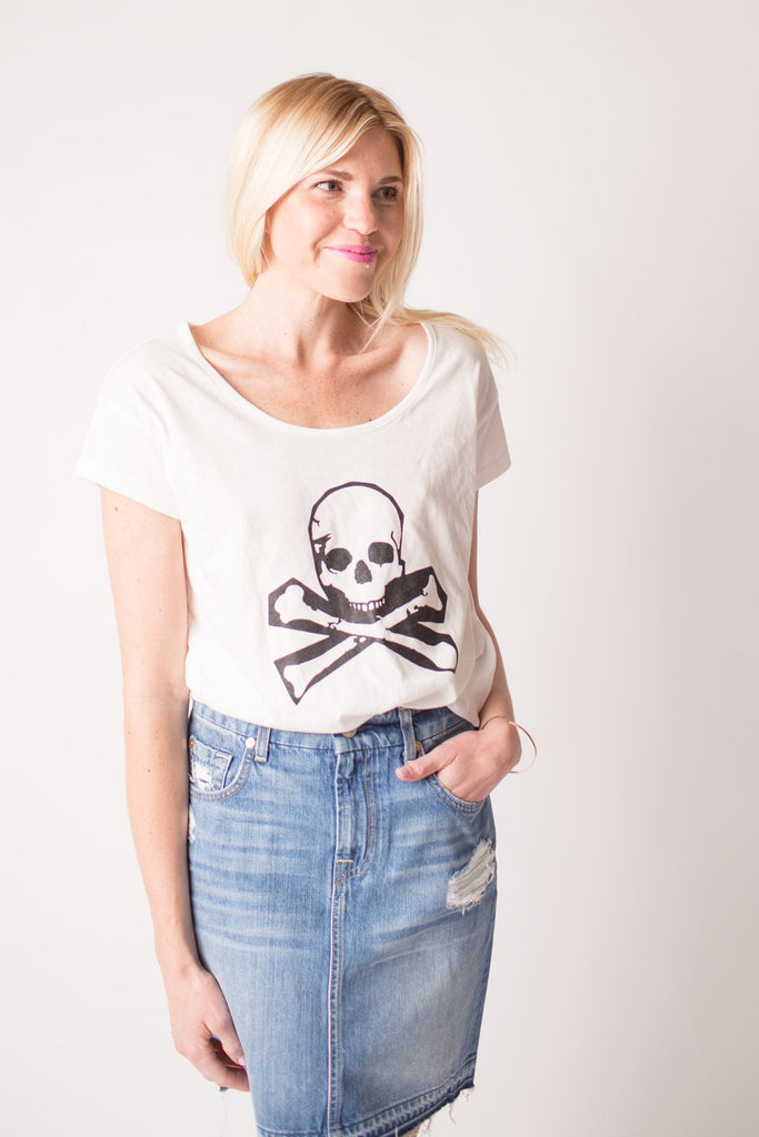 Boat House Skull Tee at Blond Genius - 1