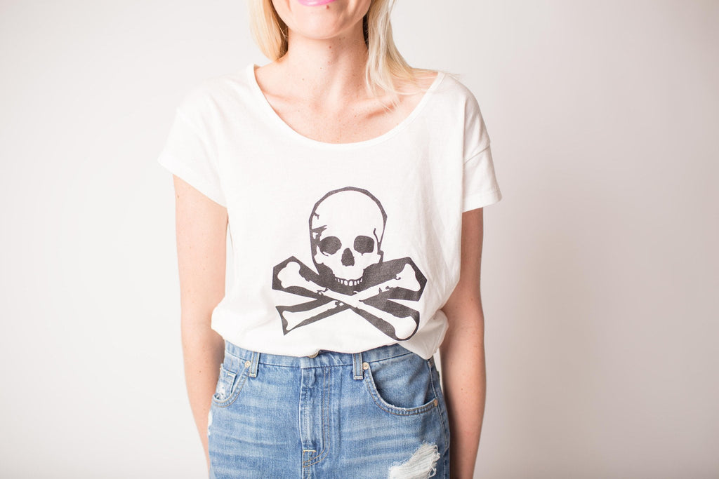 Boat House Skull Tee at Blond Genius - 2