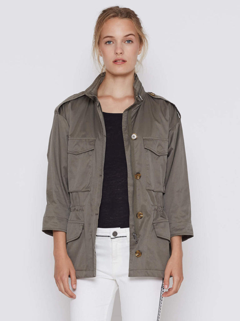 Joie Cristii Fatigue 3/4 sleeve jacket at Blond Genius - 1