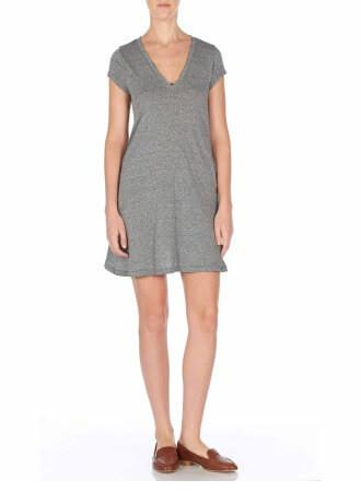 Current/Elliott The V Neck Trapeze Dress at Blond Genius