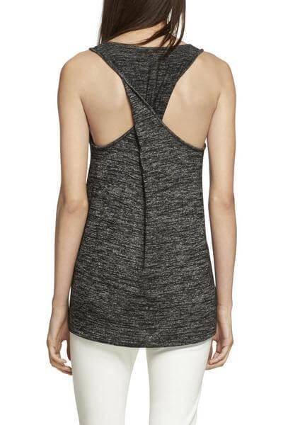 Rag & Bone Twist Back Tank at Blond Genius - 2