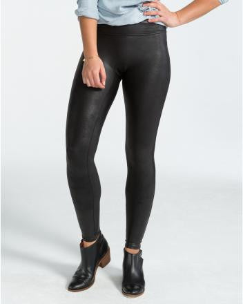 Spanx - Faux Leather Leggings in Black