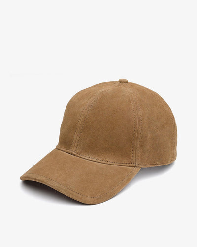 Rag & Bone - Marilyn Baseball Cap in Camel Suede
