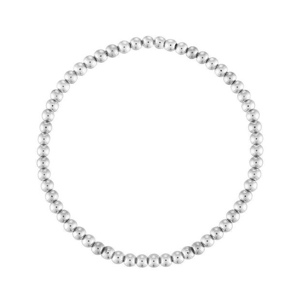 Alexa Leigh - 3MM Sterling Silver Ball Bracelet