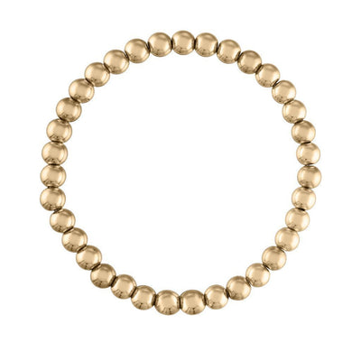 Alexa Leigh - 5MM Yellow Gold Ball Bracelet