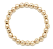 Alexa Leigh - 6MM Yellow Gold Ball Bracelet