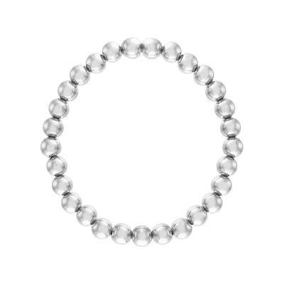Alexa Leigh - 6MM Sterling Silver Ball Bracelet