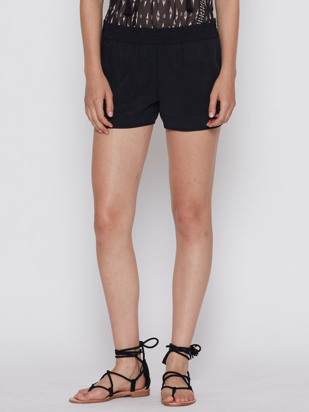 Joie Beso Shorts Caviar at Blond Genius